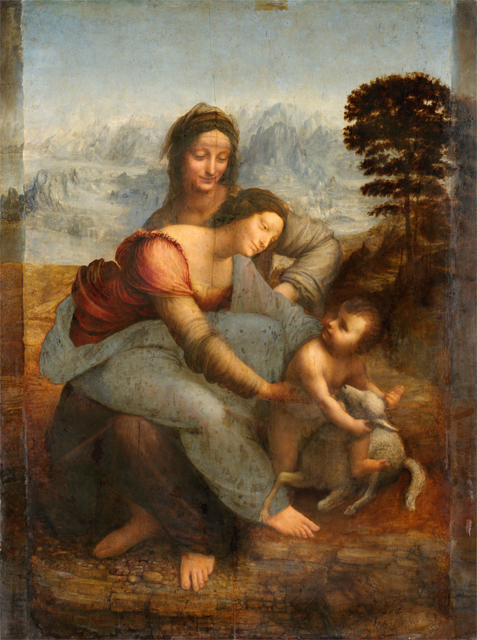 Leonardo_da_Vinci_-_Virgin_and_Child_with_St_Anne small